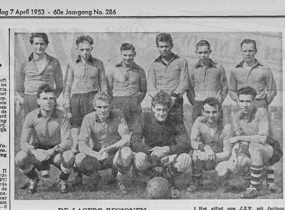Anno 1953: in het rechterrijtje