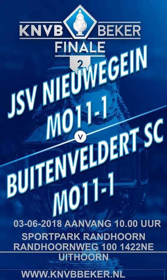 Steun MO11-1 in bekerfinale