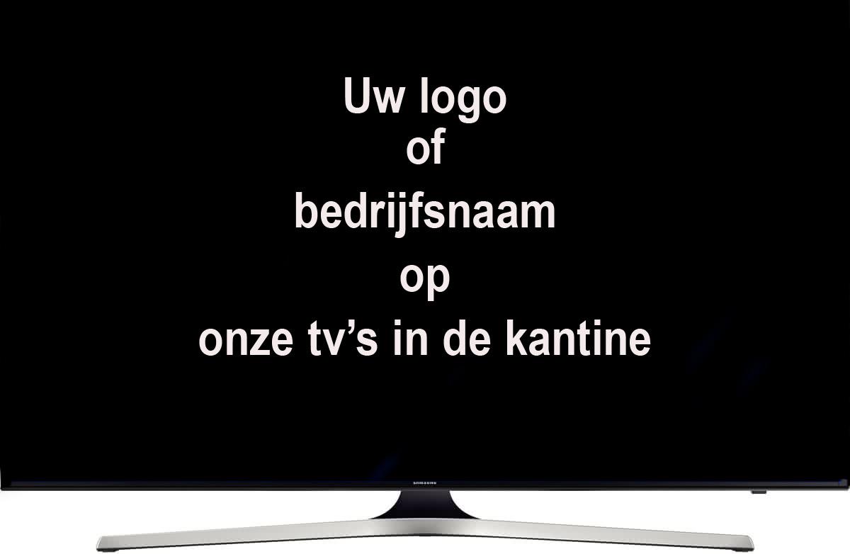 TV schermen kantine