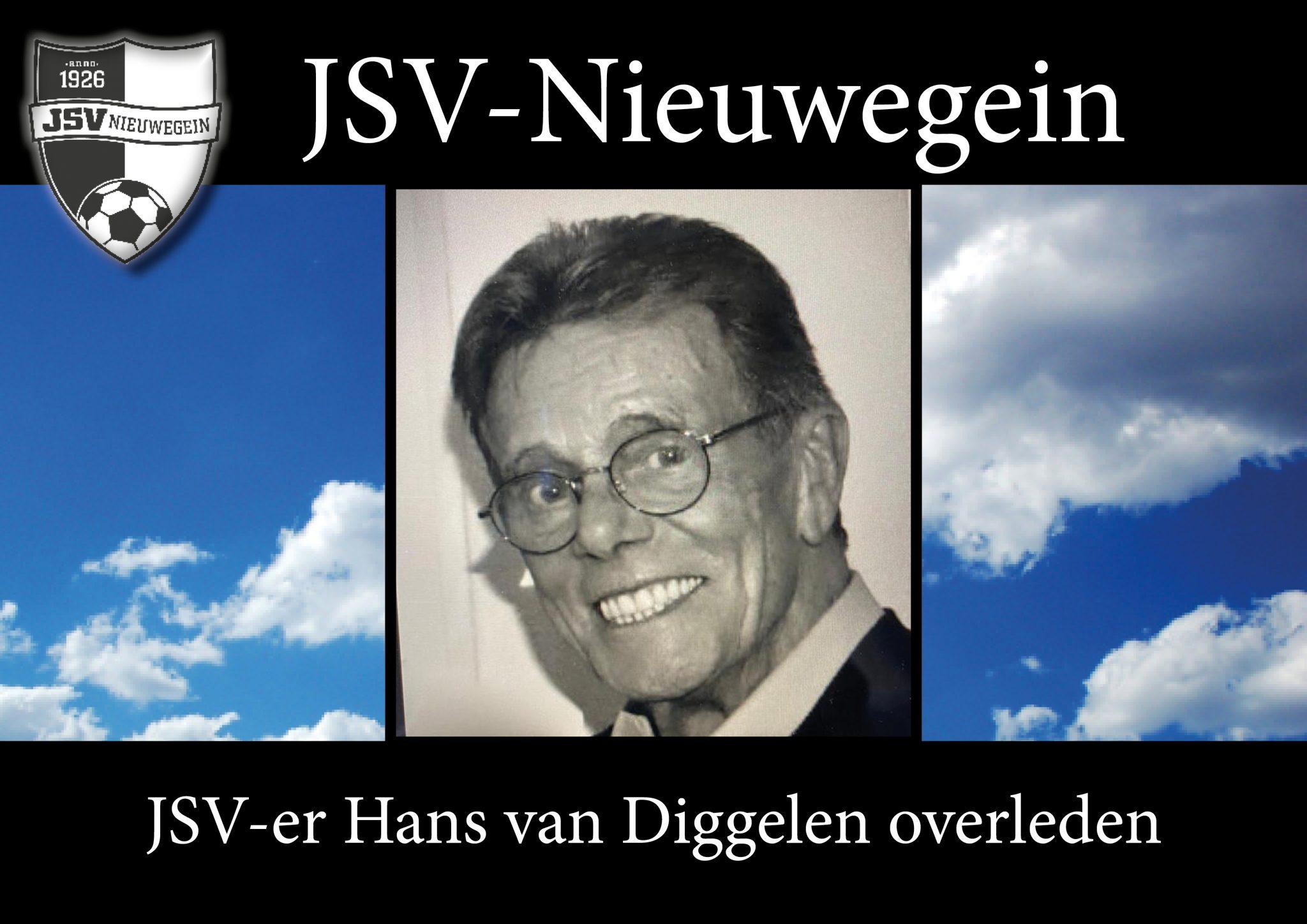 Hans van Diggelen overleden