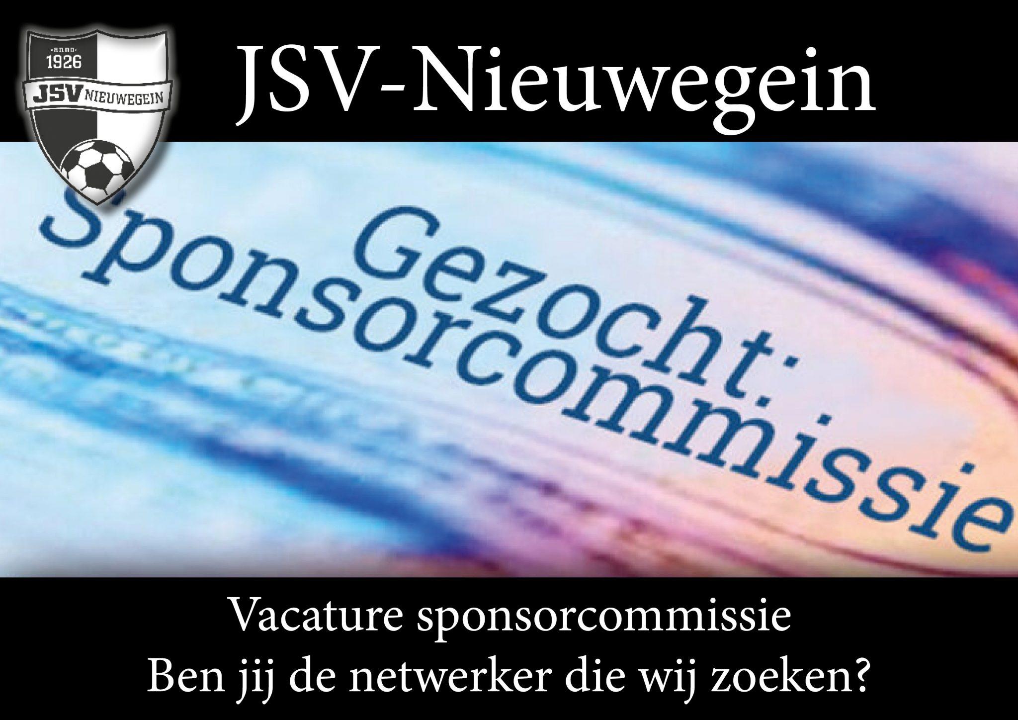 Vacature sponsorcommissie